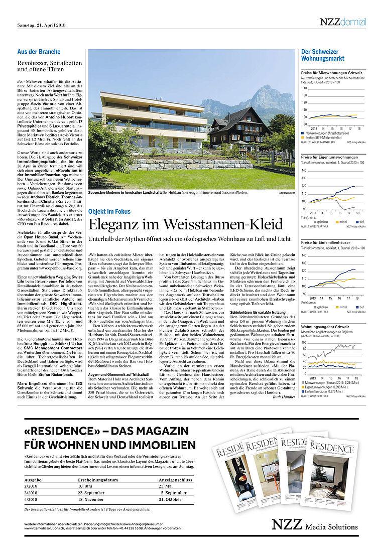 Magazine - k_m architektur, Daniel Sauter - Architekt