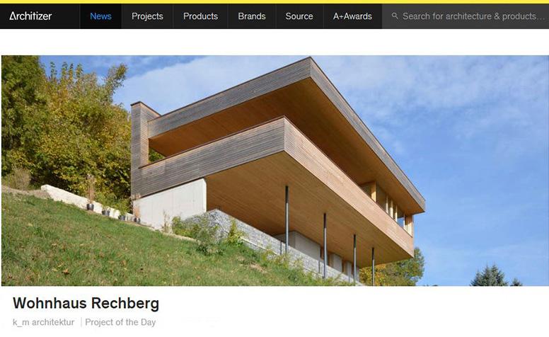 Aktuell k m architektur daniel sauter architekt for Magazin architektur